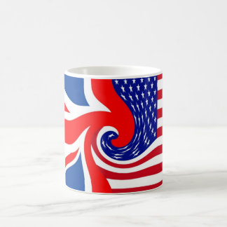 KUSINER FÖR UK/USA FLAG-LOVIN KAFFEMUGG
