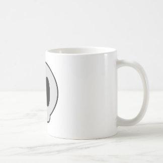 Kuslig flicka kaffemugg