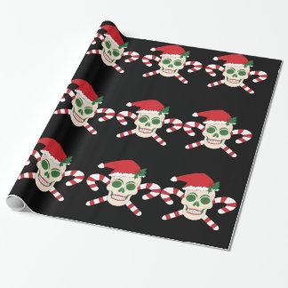 Kuslig jul som slår in papper presentpapper
