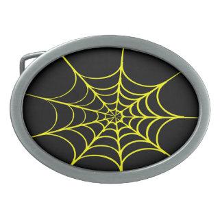 Kuslig spindelnät (svarten & gult)