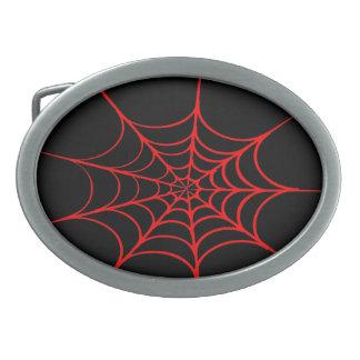 Kuslig spindelnät (svarten & rött)