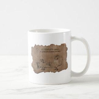 Kusliga varelser kaffemugg