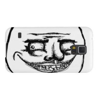 Kusligt mig Gusta ansikte Galaxy S5 Fodral
