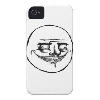 Kusligt mig Gusta ansikte iPhone 4 Fodraler