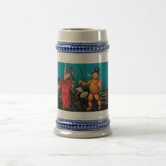 Kusligt vintageHalloween kort Stein Sejdel