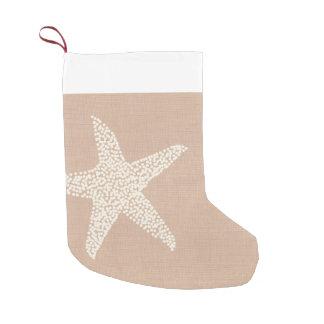 Kust- helgdag för strandsjöstjärnajul small christmas stocking