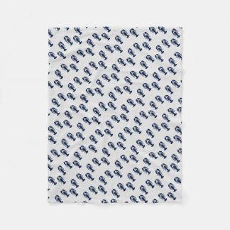 Kust- kräftdjurs filt för färgrikt hummertryck