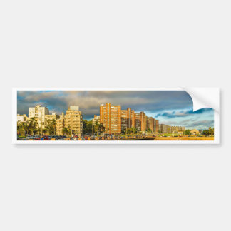 Kust- stads- plats, Montevideo, Uruguay Bildekal