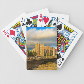 Kust- stads- plats, Montevideo, Uruguay Spelkort