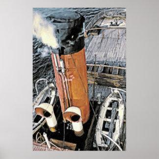 Kust- Steamer Poster