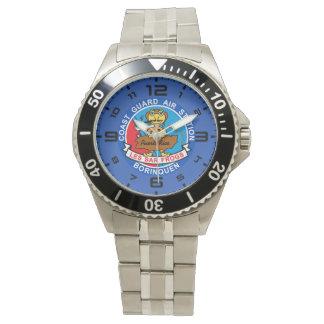 Kustbevakningflygfält Borinquen Puerto Rico Armbandsur