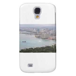 Kusten av O'ahu tittar från diamanthuvudet Galaxy S4 Fodral