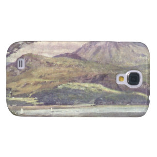 Kusten nära Harlech, Gwynedd, Wales Galaxy S4 Fodral