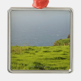 Kusten nära Ponta gör Pargo, Madeira, Portugal Julgransprydnad Metall