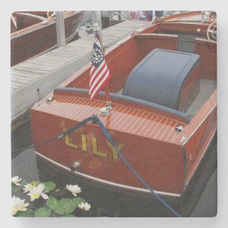 Kustfartyg för Chris hantverkdrink Underlägg Sten