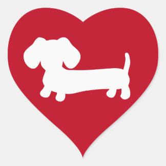 Kuvertet för taxhjärtakärlek förseglar hjärtformat klistermärke
