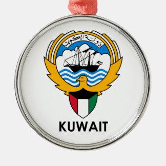 KUWAIT - emblem/flagga/vapensköld/symbol Julgransprydnad Metall