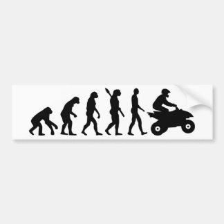 Kvadrat för evolution ATV Bildekal