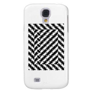 Kvadrera den optiska illusionen för Shape Galaxy S4 Fodral