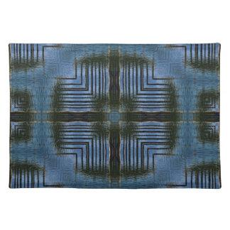 Kvadrera det matta geometriska stället för reflexi bordstablett