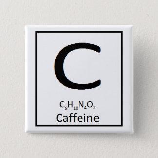 Kvadrera koffeinet knäppas, 2 in standard kanpp fyrkantig 5.1 cm