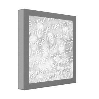 Kvadrera kolgränsfotoet canvastryck