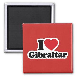 Kvadrera mig älskar den Gibraltar magneten Magnet