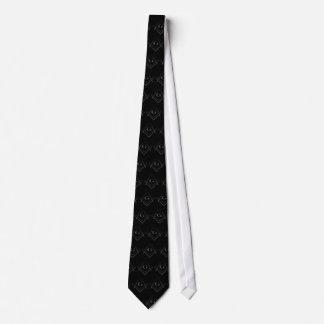 Kvadrera och omringa den belade med tegel slipsen slips