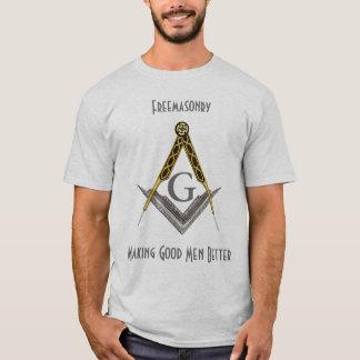 Kvadrera och omringa med allt seende öga t-shirts