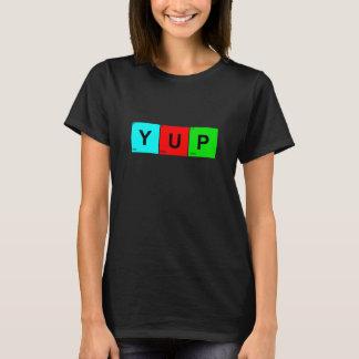 Kvadrerar det periodiska bord för YUP Tshirts