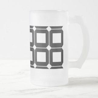 Kvadrerar Frostat Ölglas