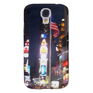 """Kvadrerar tider, New York City, USA"" CricketDiane Galaxy S4 Fodral"