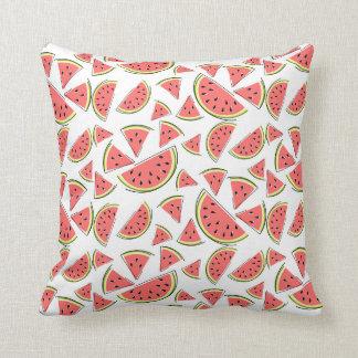 Kvadrerar tillbaka mång- rosor för vattenmelonen kudde