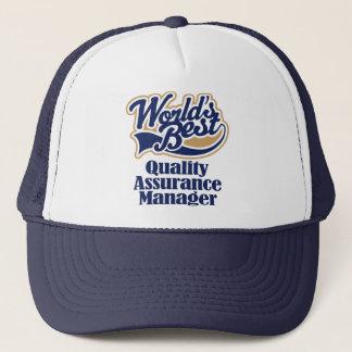Kvalitets- försäkringschefgåva keps
