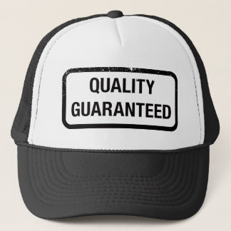 Kvalitets- garanterat truckerkeps