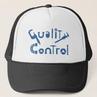Kvalitets- kontrollera truckerkeps