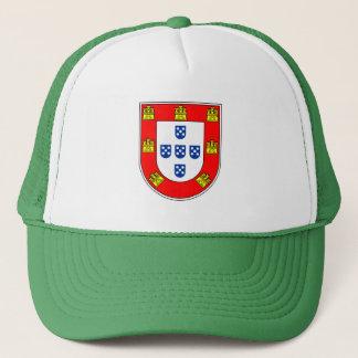 Kvalitets- portugisisk flagga truckerkeps