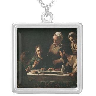 Kvällsmål på Emmaus, 1606 Halsband Med Fyrkantigt Hängsmycke