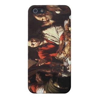 Kvällsmål på Emmaus - Caravaggio) iPhone 5 Fodraler