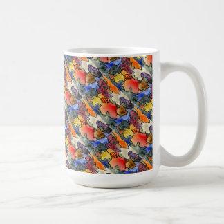 """""""Kvalsterar och Tites belagd med tegel"""" abstrakt Kaffemugg"""