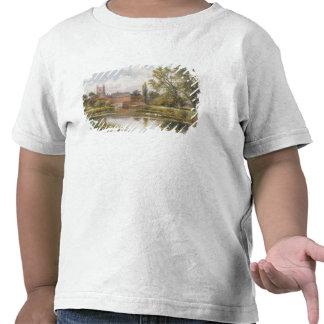 Kvarndammet 1901 olja på kanfas t shirt