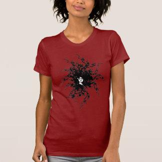 Kvinna av ogräsen tee shirt