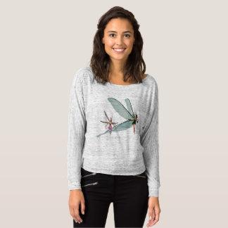 Kvinna Bella+Kanfas Flowy knuffar av skjortamässan T-shirt