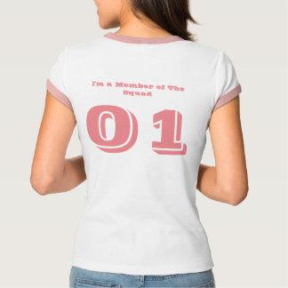 Kvinna Bella+KanfasRingerT-tröja Tee Shirt