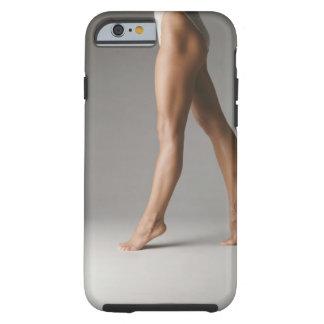 Kvinna ben tough iPhone 6 fodral