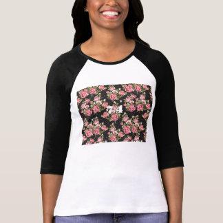 Kvinna blommönster 74 Jersey T Shirts