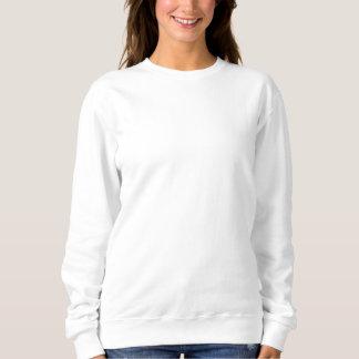 Kvinna broderade tröja