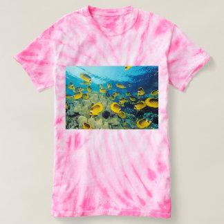 Kvinna CycloneTie-Färg T-tröja Tee Shirts
