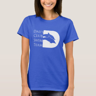 Kvinna delfinT-tröja, royal Tee Shirts