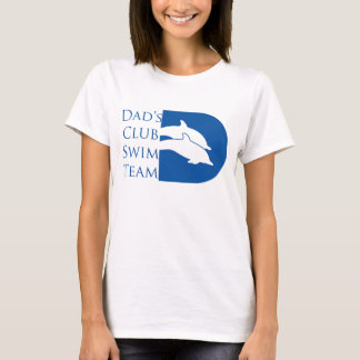 Kvinna delfinT-tröja, vit T Shirts